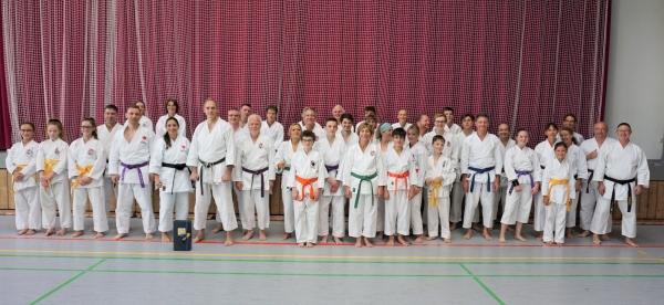 Gruppenfoto Lehrgang Thomas Schulze
