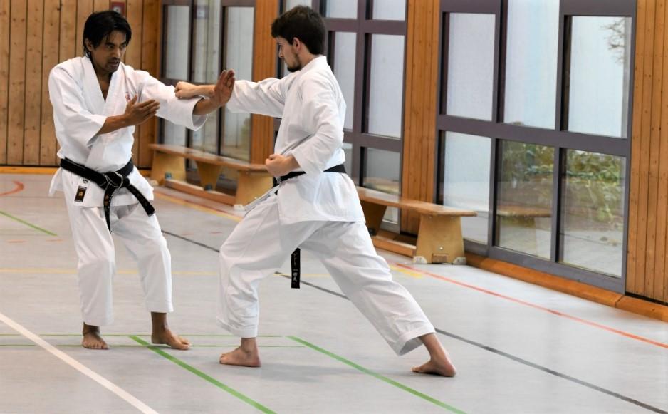 Kumite Julian Chees Gyaku Tsuki